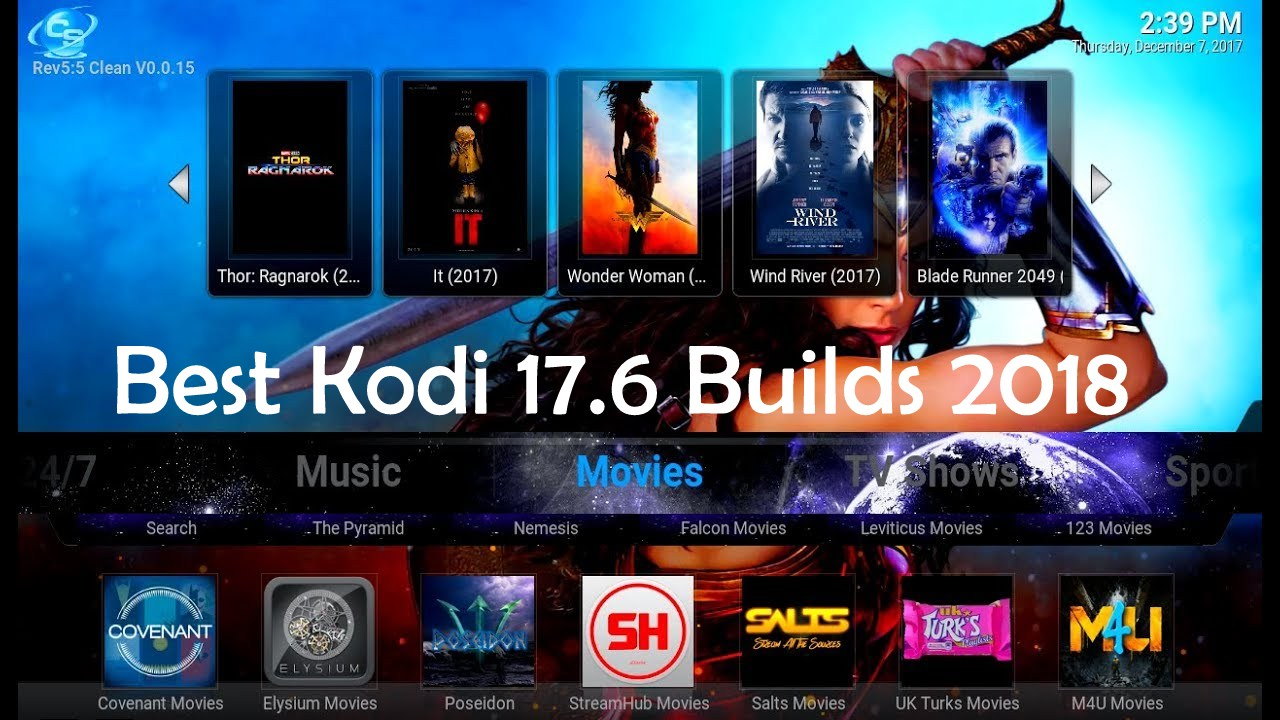 New Kodi  Builds