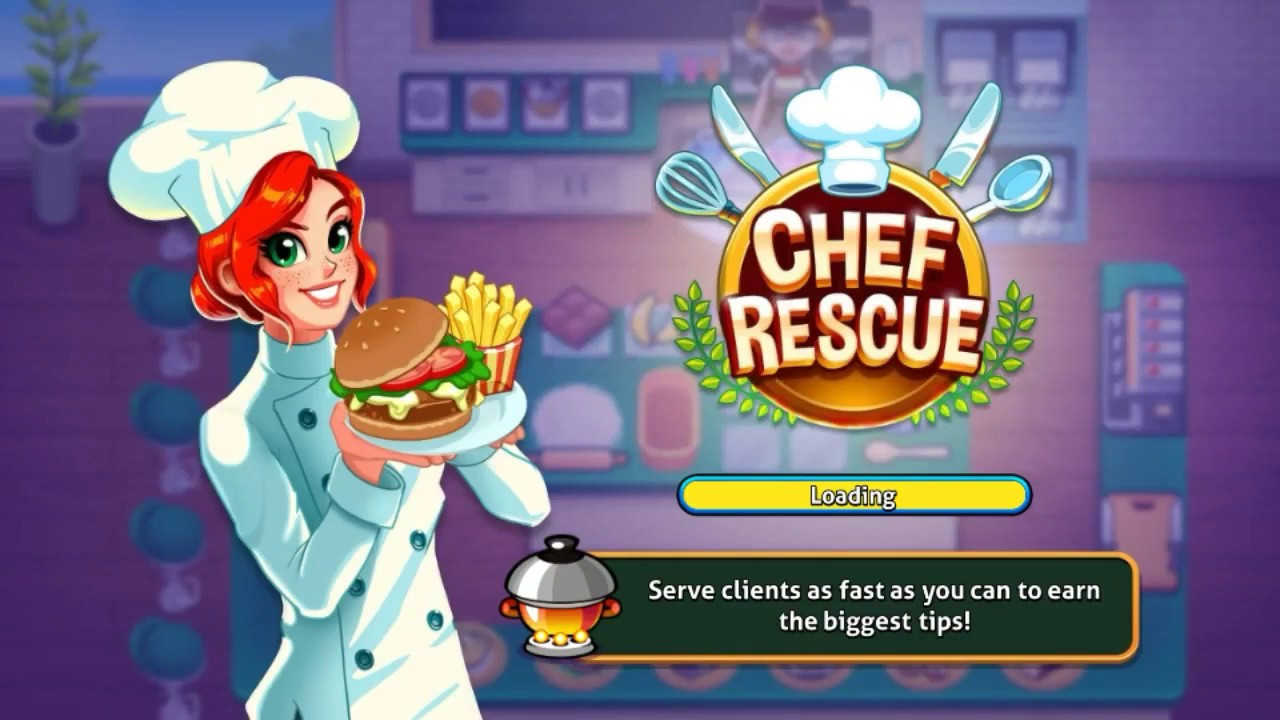 Chef rescue cooking restaurant management game mod apk hack