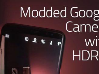 Gcam Mod apk for Samsung Galaxy S7 edge