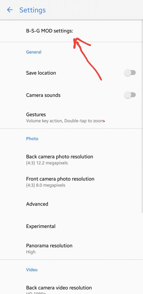 Google Camera Mod apk for Galaxy Note 8 Exynos