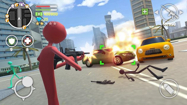 Grand-Stickman-Auto-V-Mod-apk-hack