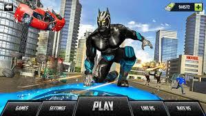 Panther Super Hero Crime City Battle 1