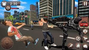 Panther Super Hero Crime City Battle 2