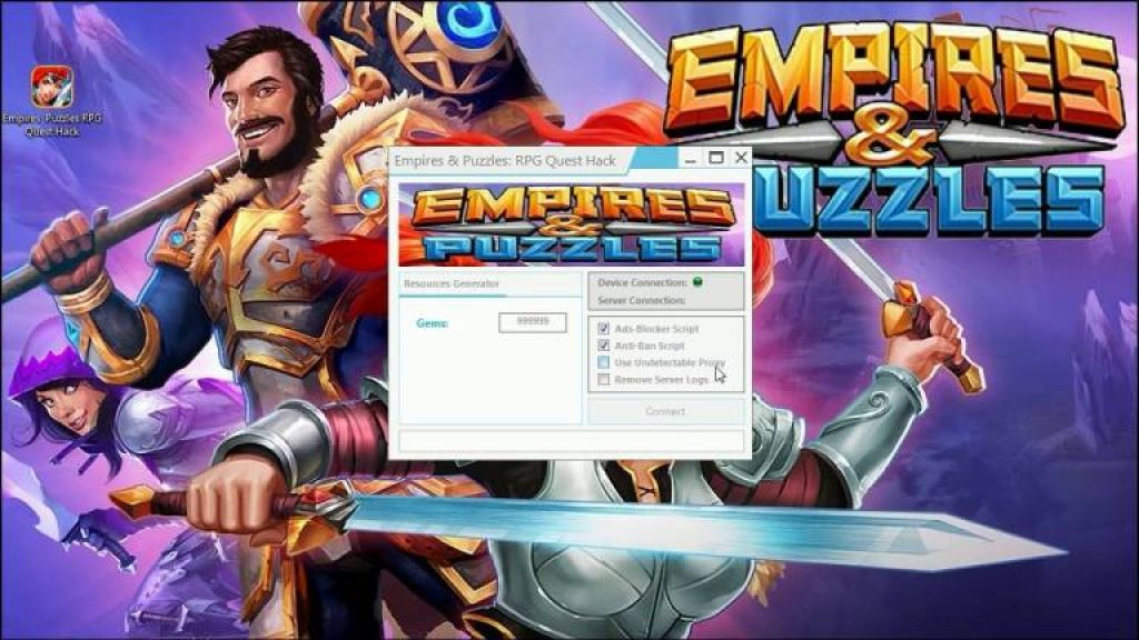 empires and puzzles mod download