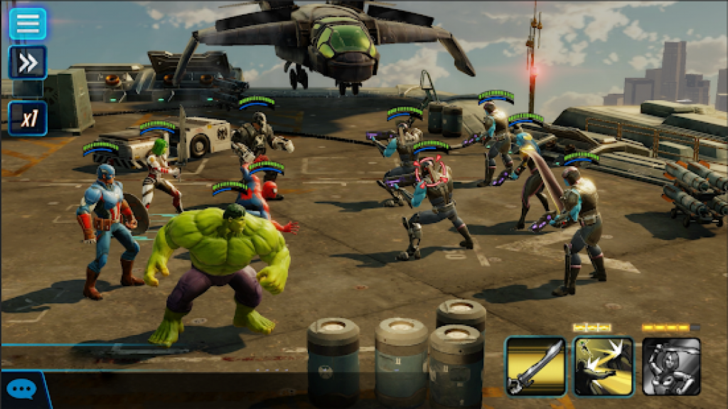 Marvel Strike Force Mod apk android