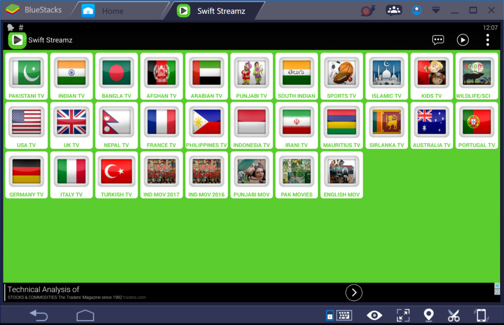 football streaming apps for android