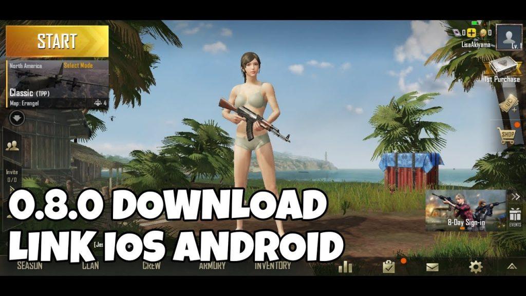 PUBG mobile 0.8.0 Apk