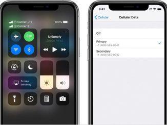 iOS 12.1.2 eSim Update