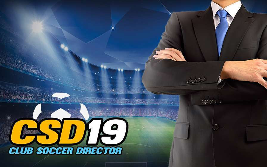 Club Soccer Director 2019 for PC Windows 10