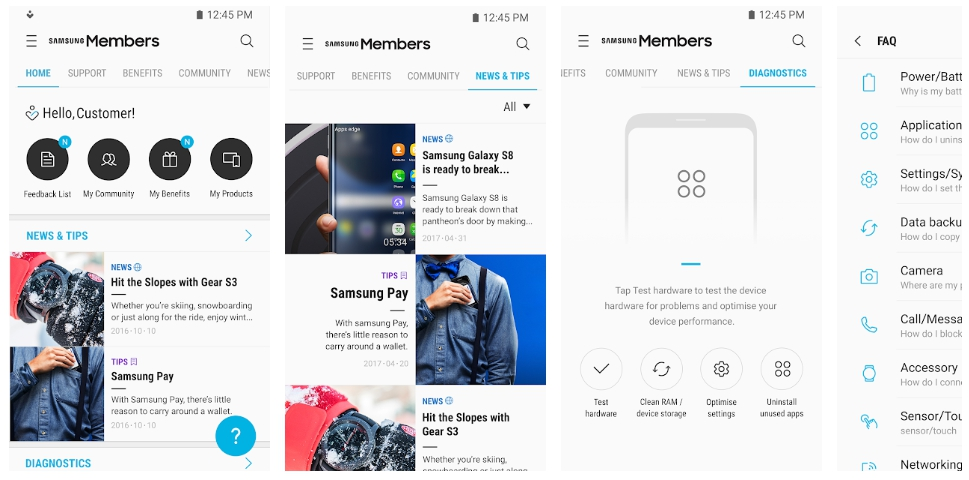 Samsung members 2019 Apk