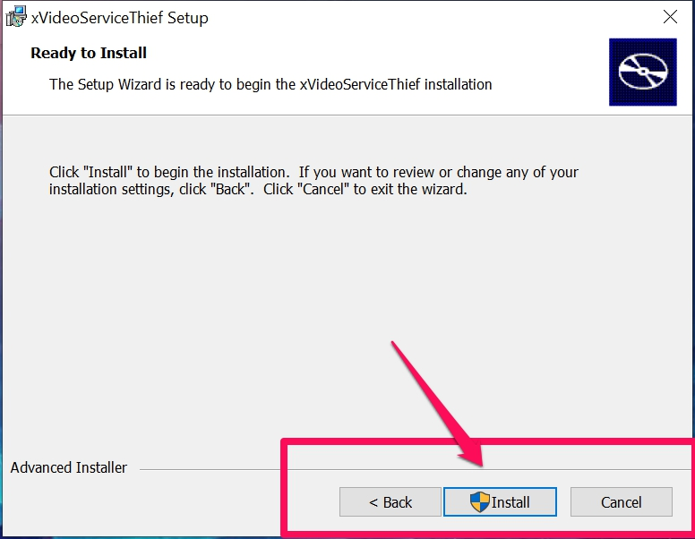 xVideoServiceThief Installation guide