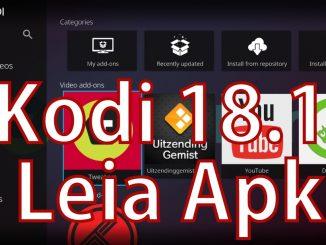 Kodi 18.1 Leia apk download 2019
