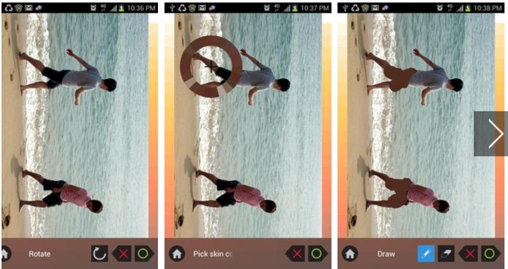 Nacked photo editor apk for Android