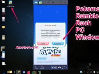 Pokemon Rumble Rush for PC Windows 10 Bluestacks Mod