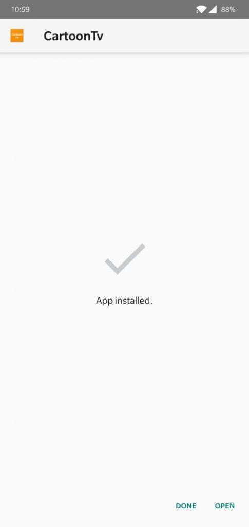 WatchCartoonOnline Apk how to install apk