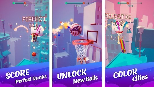 Color Dunk 3D Mod apk hack adfree for Android
