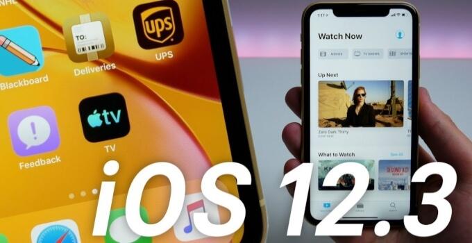 iOS 12.3 Final GM IPSW download