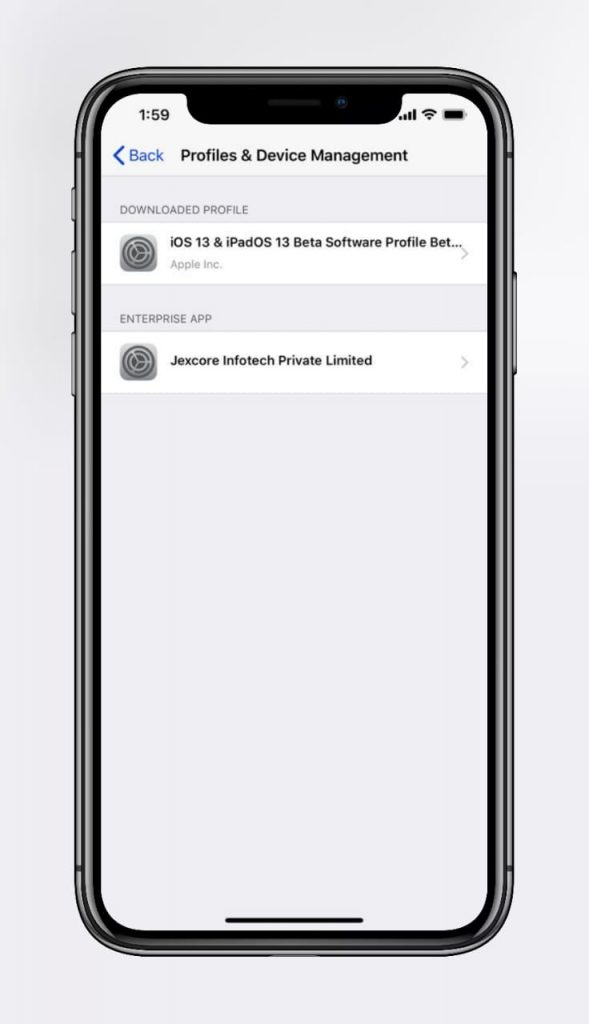 iOS 13 Beta 2 ipsw Profile Download