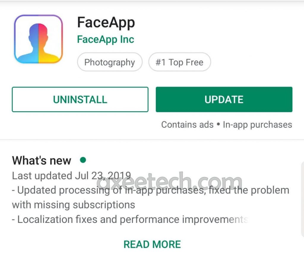 Faceapp Pro Apk 3.4.10 full Cracked unlocked filters