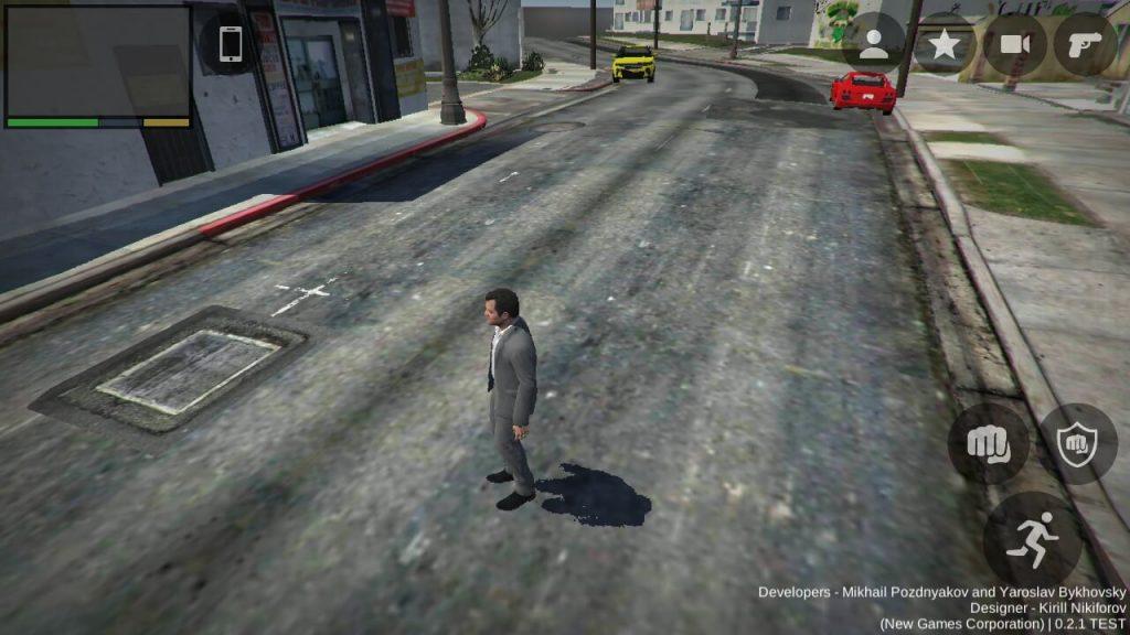 GTA 5 Mobile Apk Gameplay