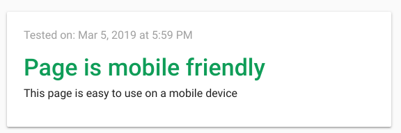 Mobile Usability Issues Got Fixed