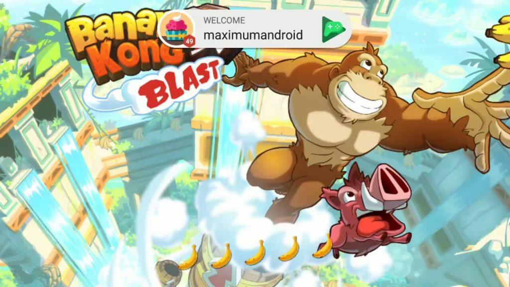 Banana Kong Blast Apk Mod