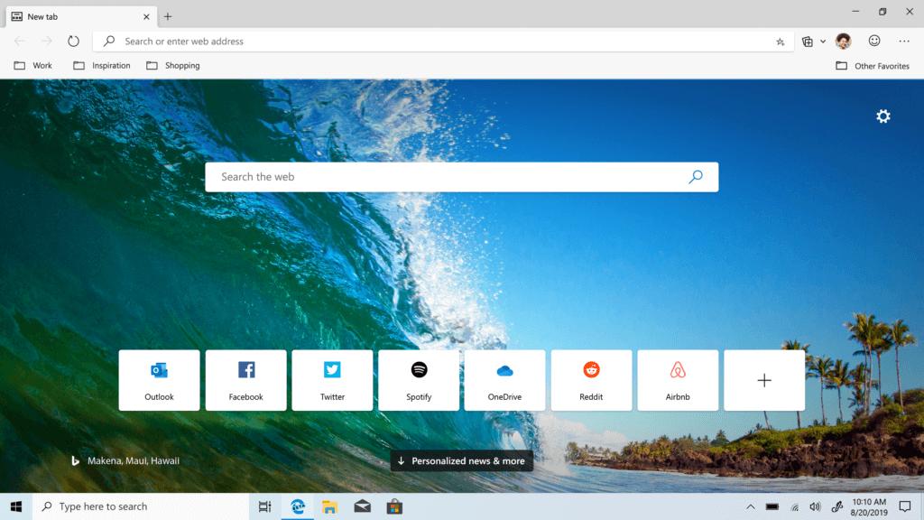Download Microsoft Edge Beta