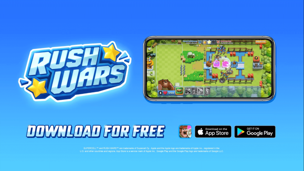 Rush Wars Apk download Link