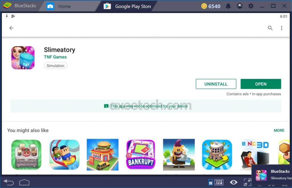 Slimeatory PC Windows 10 Downloaded