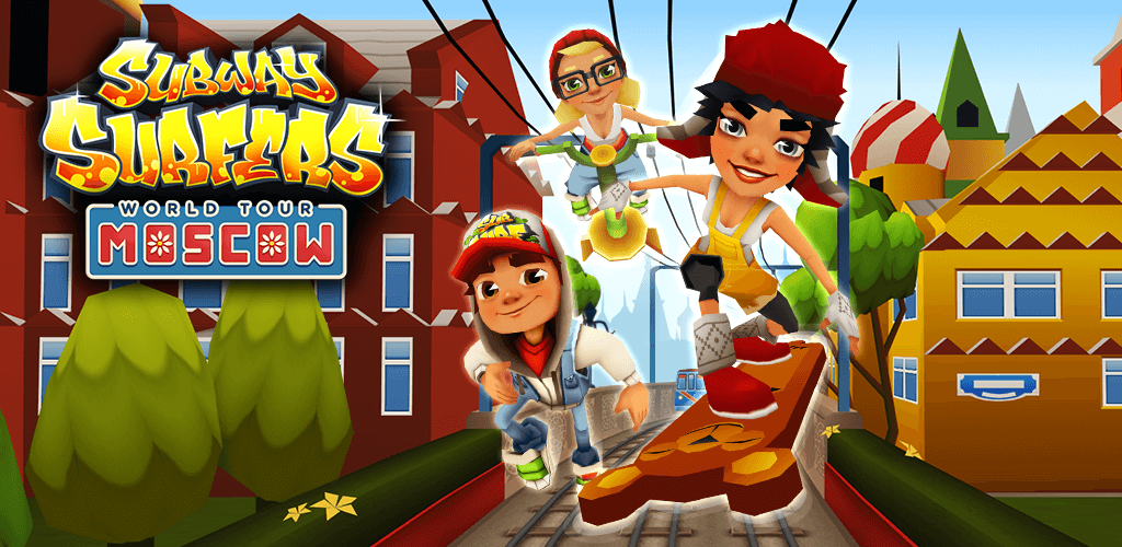 Subway Surfers Moscow 1.108.0 Mod Apk