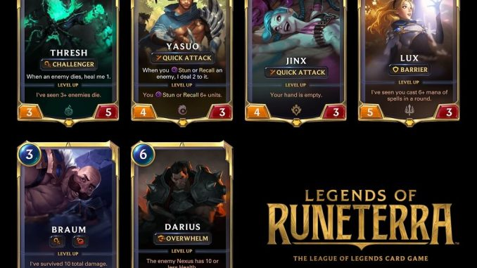 Legends of Runeterra Apk downlaod