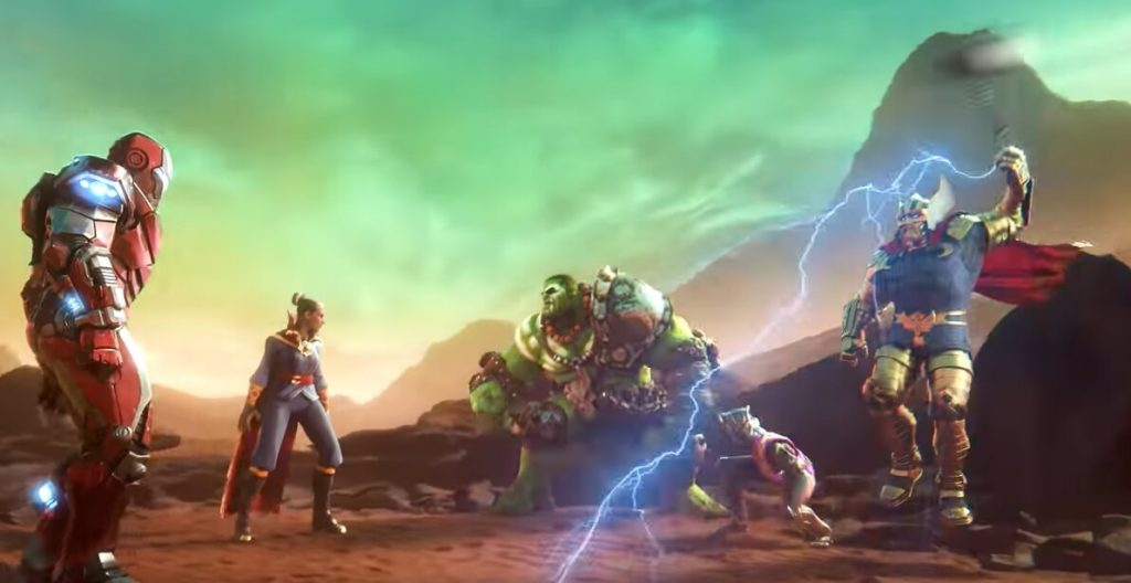 Marvel Realm of Champions Apk Screenshot for Android