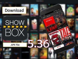 Showbox 536 Apk for October 2019