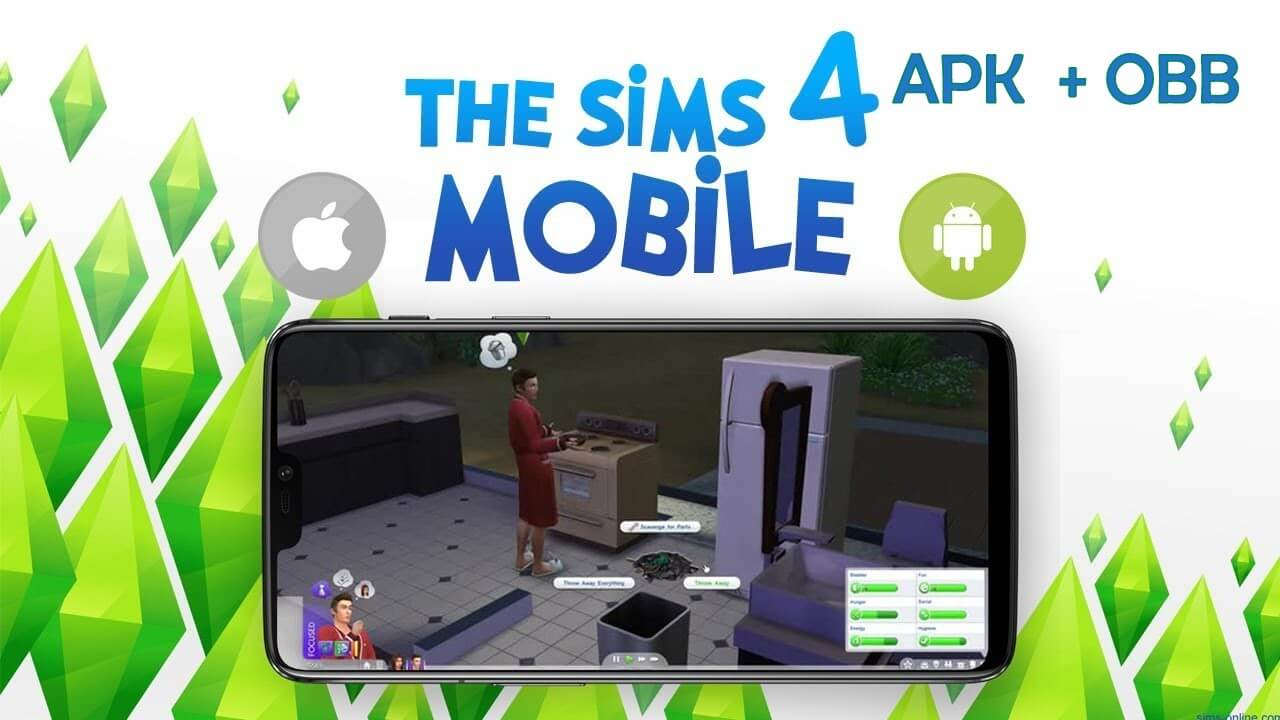 Download the Sims 4 Apk +OBB/Data v16.0 for Android. [2020]