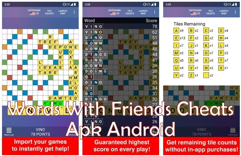Words With Friends Cheats apk