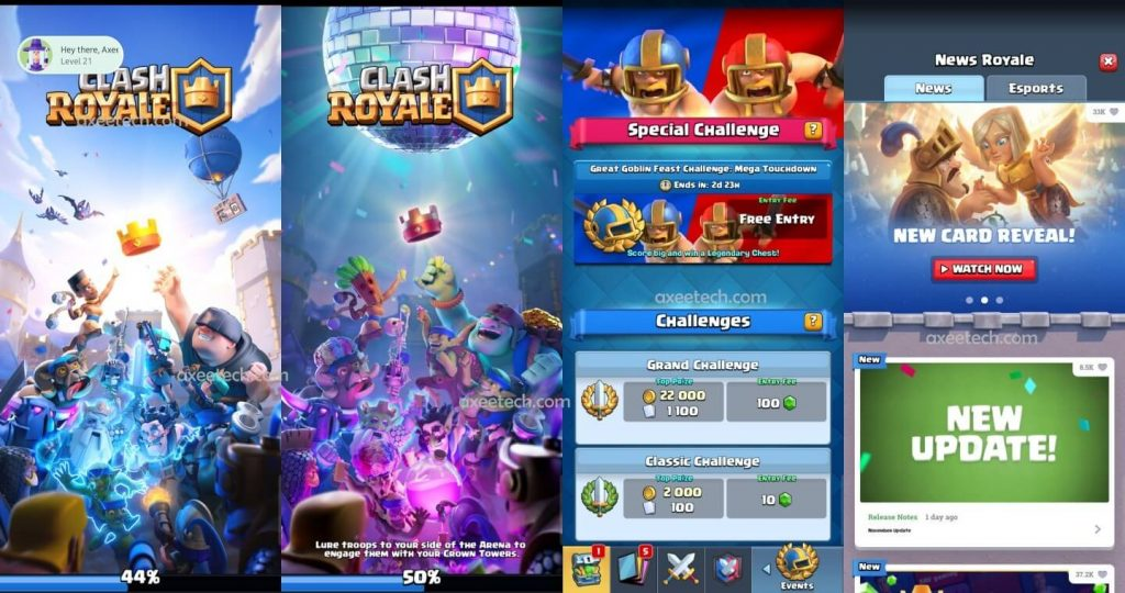 Clash Royale 3.2.0 Mod apk hack for November 2019