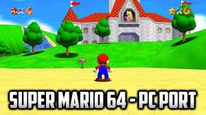 Super Mario 64 exe for Windows 10