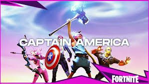 Fortnite Captain America Mod apk for Android