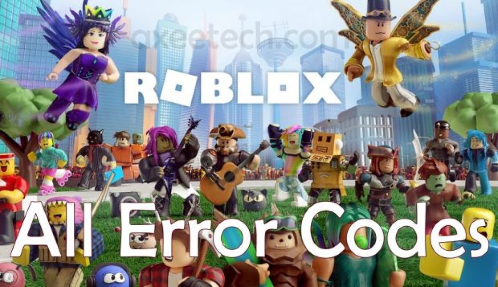 Roblox Error Code All Errors