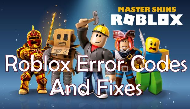 All Roblox Error Codes and Fixes