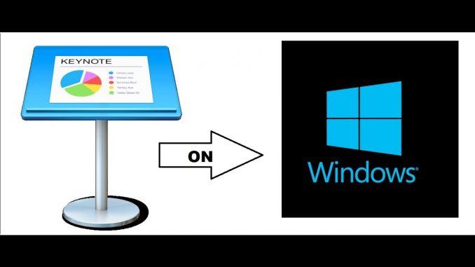 Keynote for pc Windows Mac