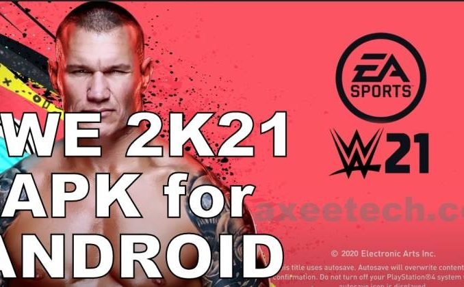 WWE 2k21 apk OBB Android 2020