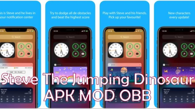Steve the Jumping Dinosaur Apk OBB for Android