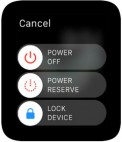 How to set Power Saving mode on Apple Watch.