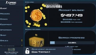 Case Clicker 1.9.1 Mod Apk With unlimited coins and money modded version.