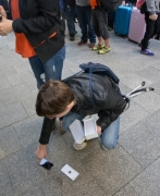 First ever iPhone 6 Drop test happened accidentally in Australia.