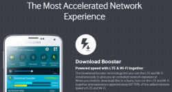 How to increase Download speed on Samsung Galaxy S5 with Download Booster feature.