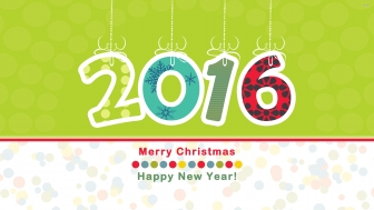Top 10 4K HD Happy New Year 2016 Wallpapers.