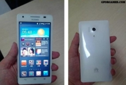 Huawei Honor 3 showed up in blur images plus the expected specs sheet.