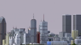 A user made New York virtual city map on Minecraft, took him 2 years.